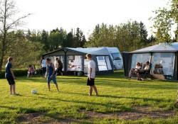 camping med børnene